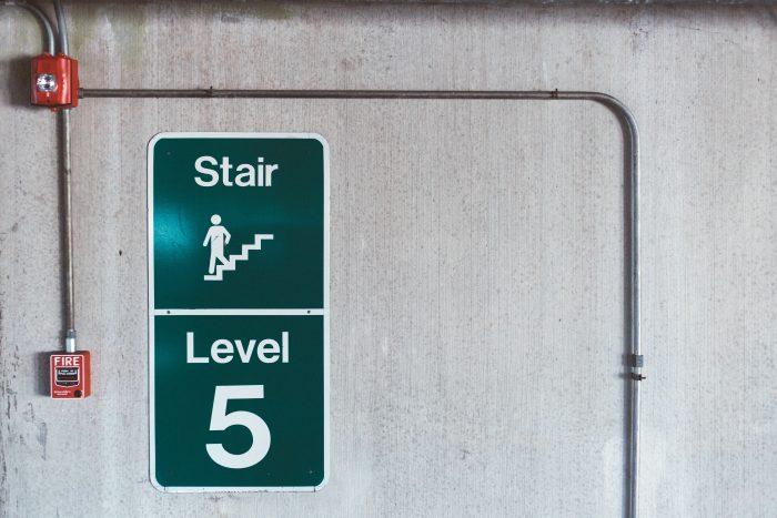 Escape Route signage