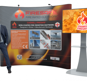 Firesafe virtual stand for BESA Conference