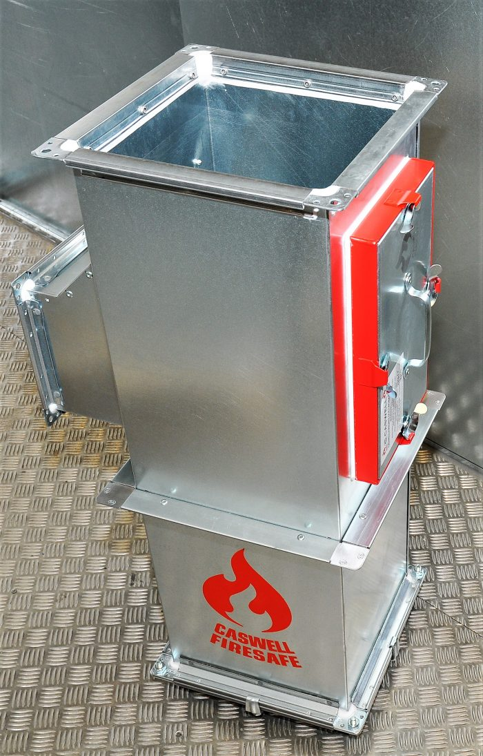 CASWELL FIRESAFE® non-coated fire resisting ductwork, BS 476:24
