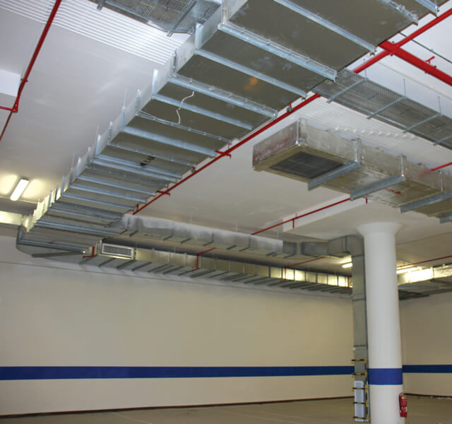 CASWELL FIRESAFE® Car Park Extract Ductwork