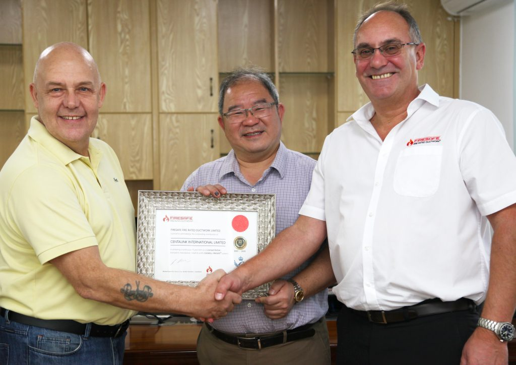Charles Coxen,FFRDL Technical Director,Andy Bird,Dick Ma,Centalink