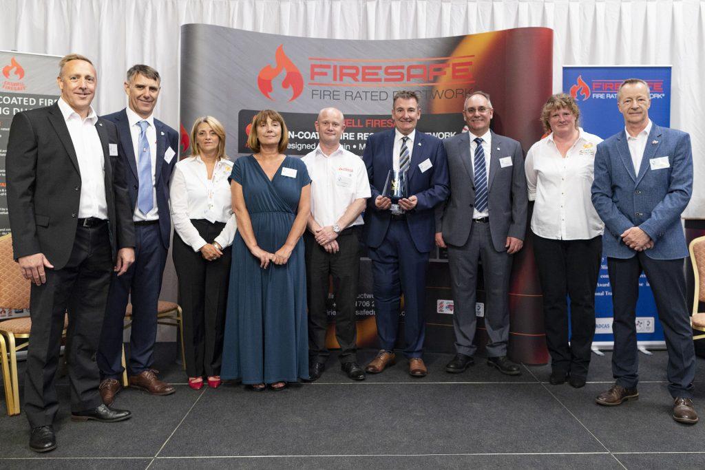 Firesafe team,Mark Harrison, Robert Coxen, Linda Manning, Carolyn Branagan, Darren Webster, Richard Coxen, Charles Coxen, Louise Coxen, Mark Elliott
