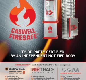 BESA Book advert CASWELL FIRESAFE®