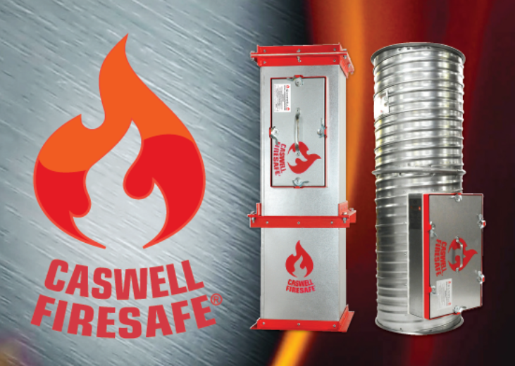 An image of CASWELL FIRESAFE® fire resisting ductwork