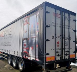 Firetrace Ductwork trailer design with CASWELL FIRESAFE® reveal