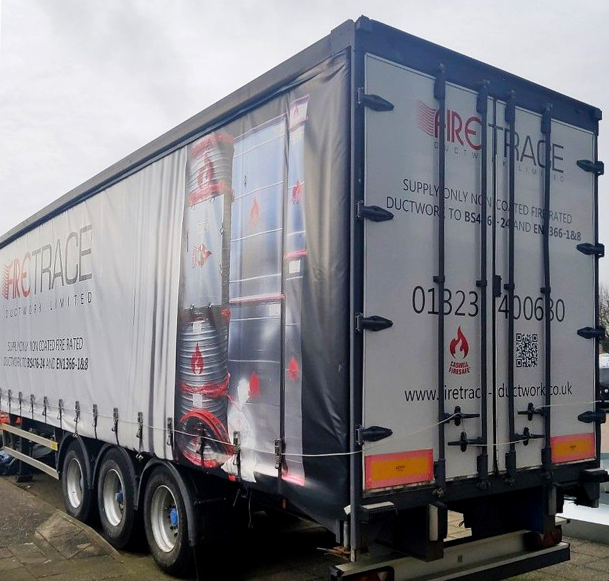 Firetrace Ductwork 2021 trailer curtain design featuring CASWELL FIRESAFE®