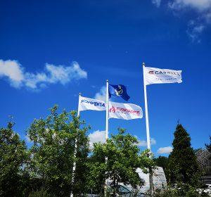 CASWELL, FIRESAFE,KONVEKTA, FLAGS, FLYING