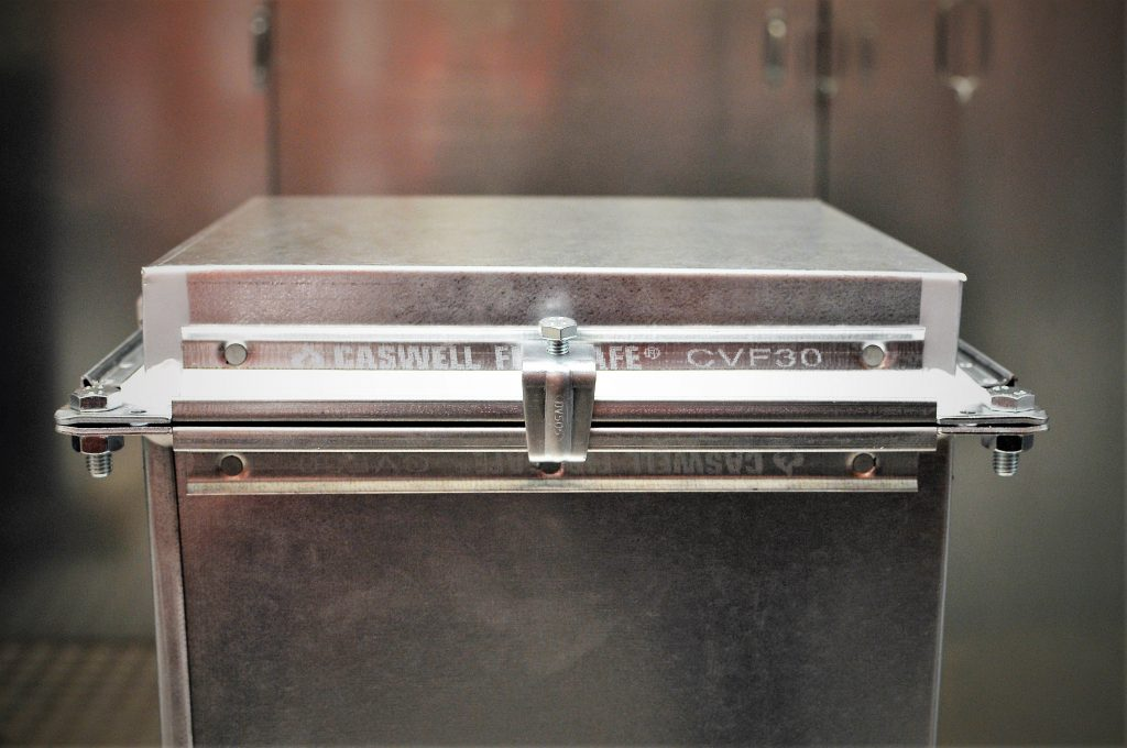 CASWELL FIRESAFE® branded flange detail