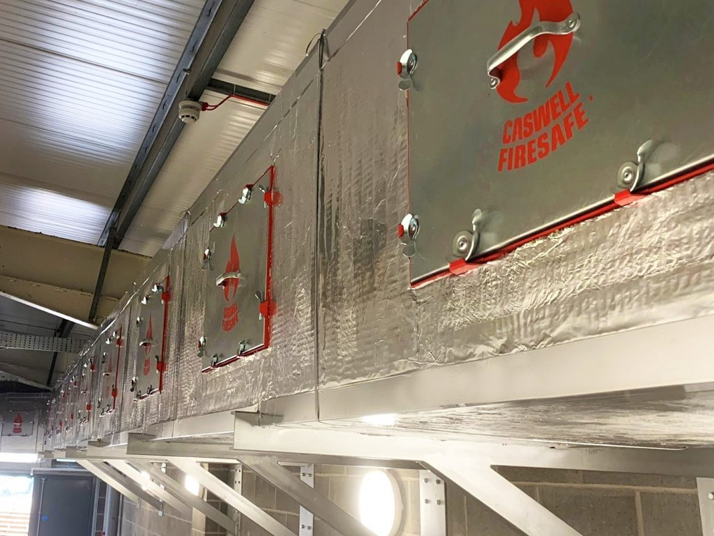 CASWELL FIRESAFE® FIRE RATED KITCHEN EXTRACT DUCTWORK AT NANDO'S