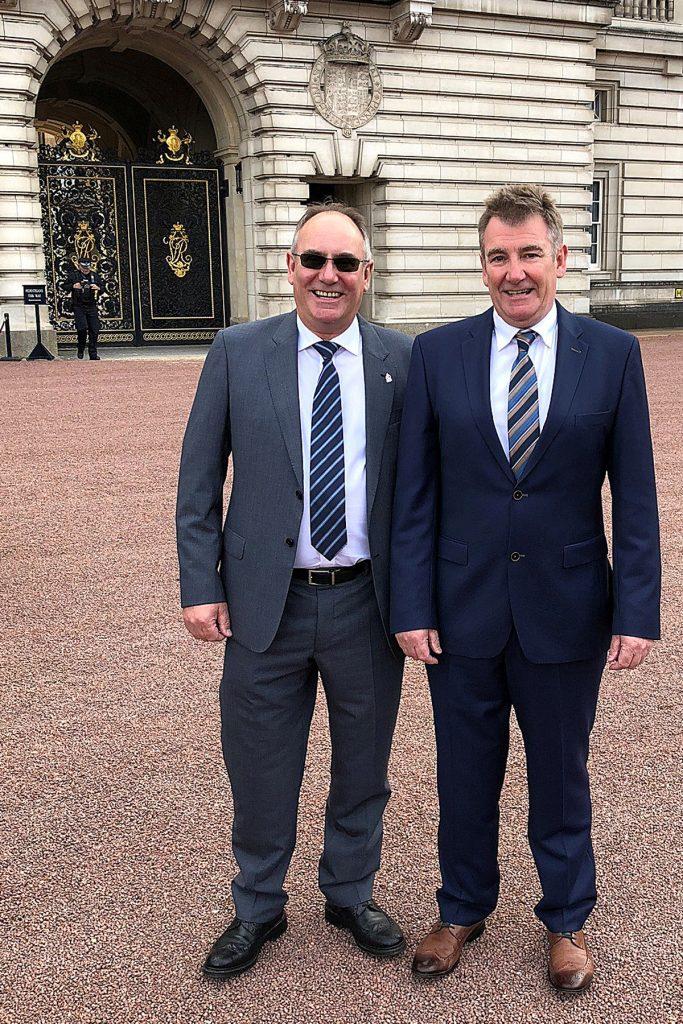 Richard Coxen,Charles Coxen,Buckingham Palace,Queen's Award,2019