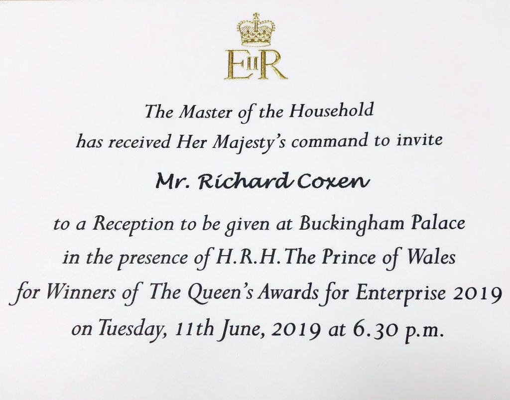 Buckingham Palace,invitation