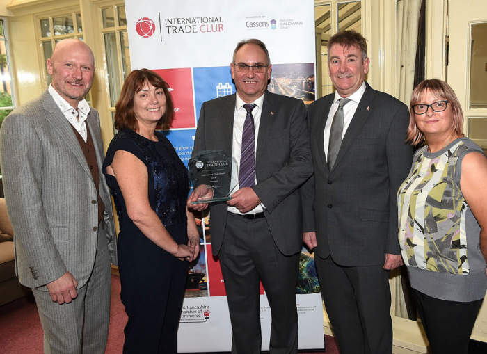 Firesafe Highly Commended International Trade Club) Awards 2018 Outstanding Exporter Achievement