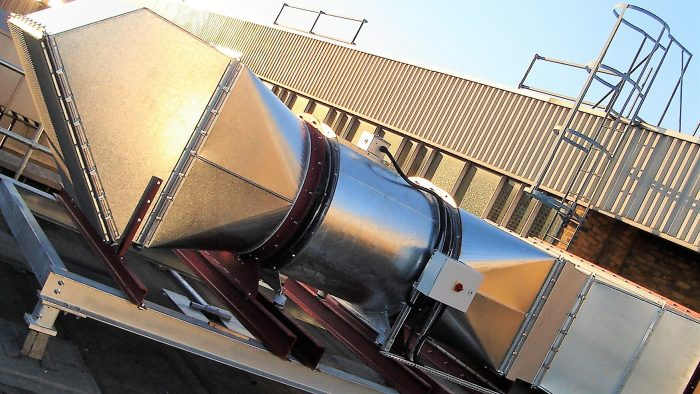 Fire Rated Ductwork Smoke Extract Ductwork